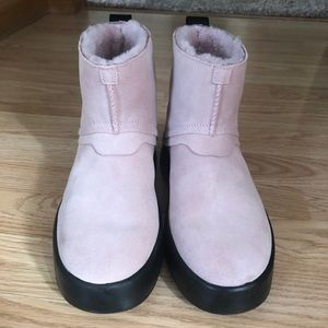 Women's New Pink UGG Boots Size 7